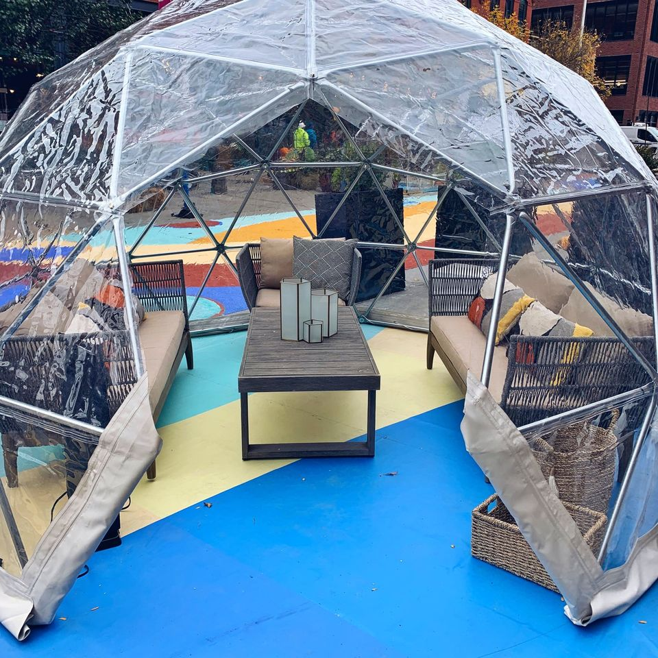 An Influx Of Igloos Have Taken Over Fulton Market