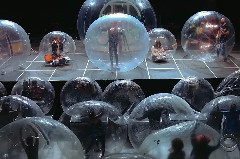 """This Epic """"Bubble Concert"""" Is The Most Rock'n'Roll Thing To Happen In 2020"""