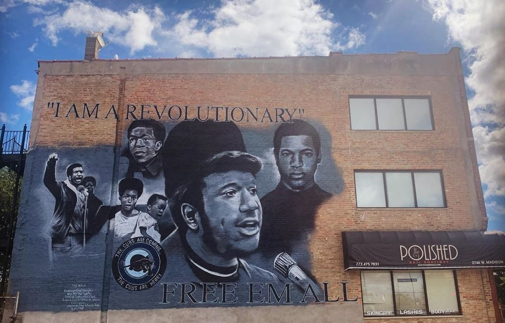 Chicago Has A New Educational Mural Honoring Slain Chairman Of Illinois Black Panther Party
