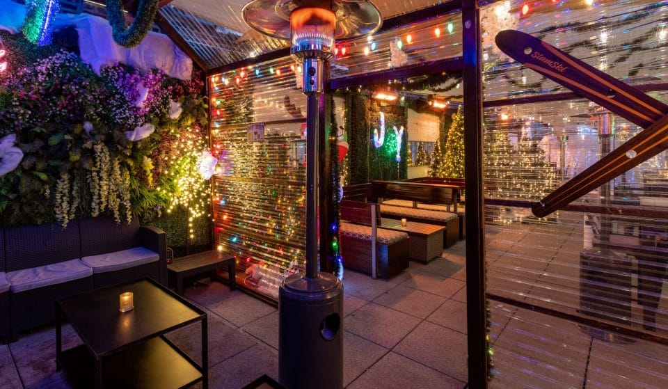 Joy District's Revamped Rooftop Winter Wonderland Will Continue Through March