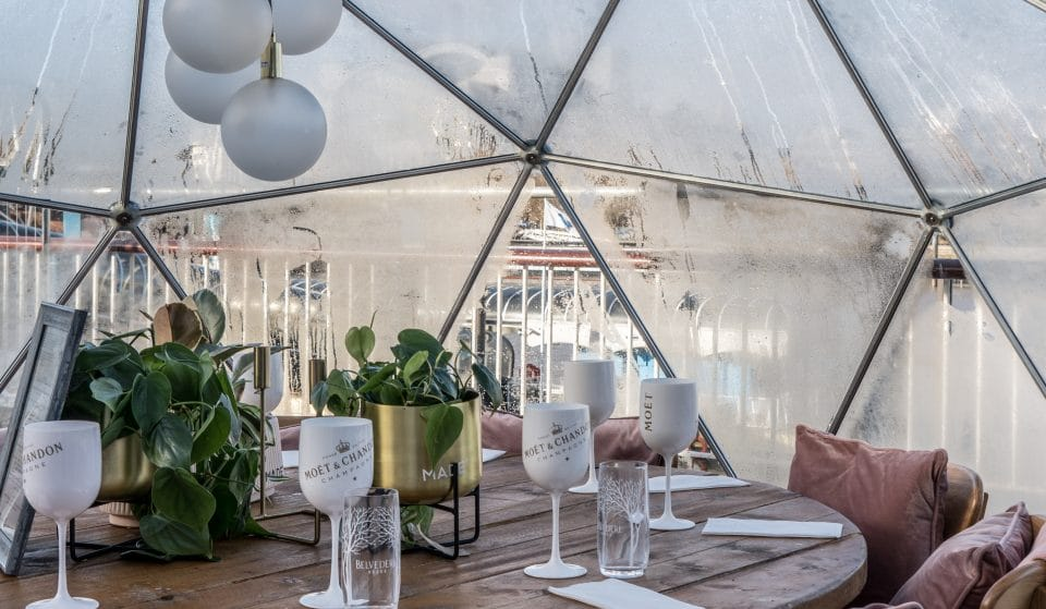 Dine In Igloos Decorated By Some Of Chicago's Most Talented Artists