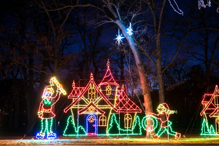 Aurora's Thrilling Festival Of Lights Offers A Free Holiday Experience