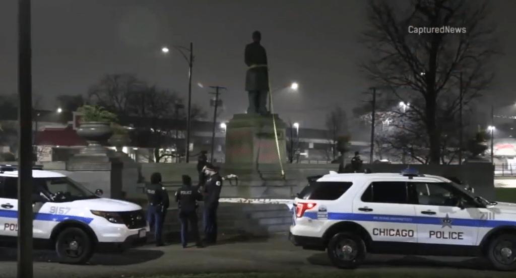 Chicago Statue Of Former President William McKinley Vandalized Overnight