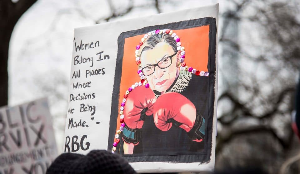 Chicago Has A New Deep-Dish Pizzeria Inspired By The Late Great RBG