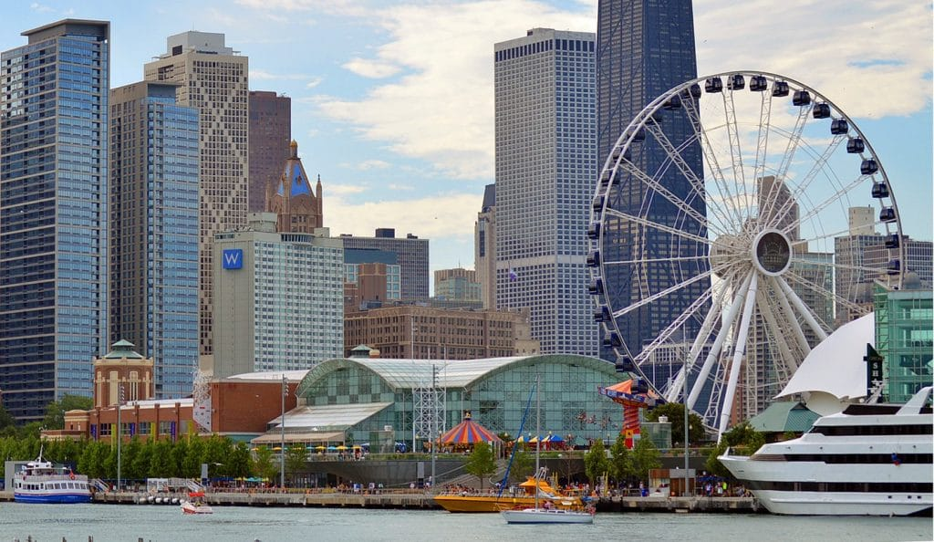 Navy Pier Begins Its Restaurant Upscale As Bubba Gump Becomes The First To Go Under