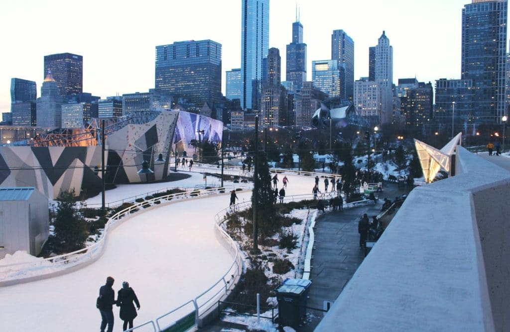 Maggie Daley Park's Iconic Ice Ribbon Is Opening For Winter This Friday