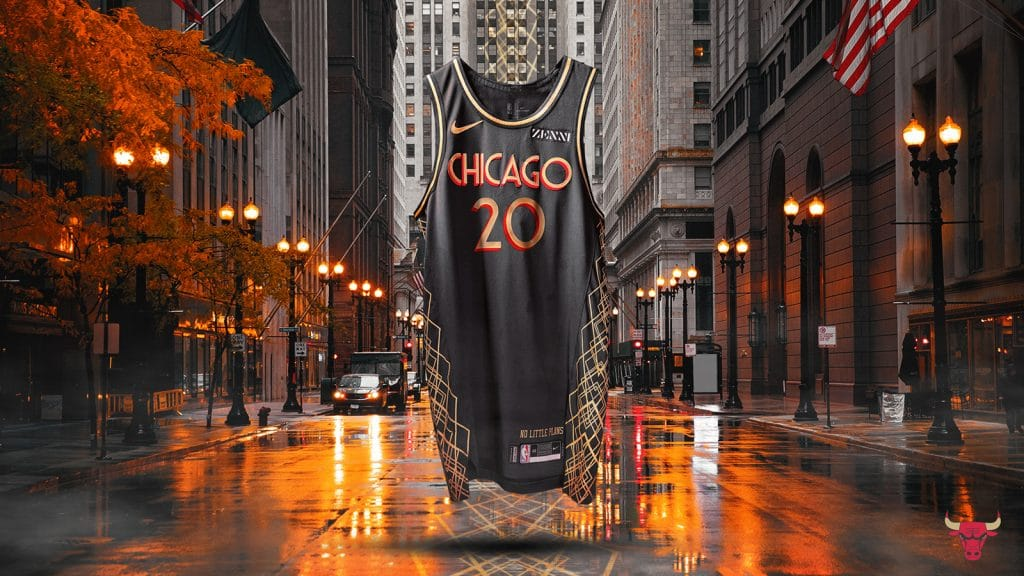 The Slick New Chicago Bulls Threads Pay Homage To Chicago's Art Deco Architecture