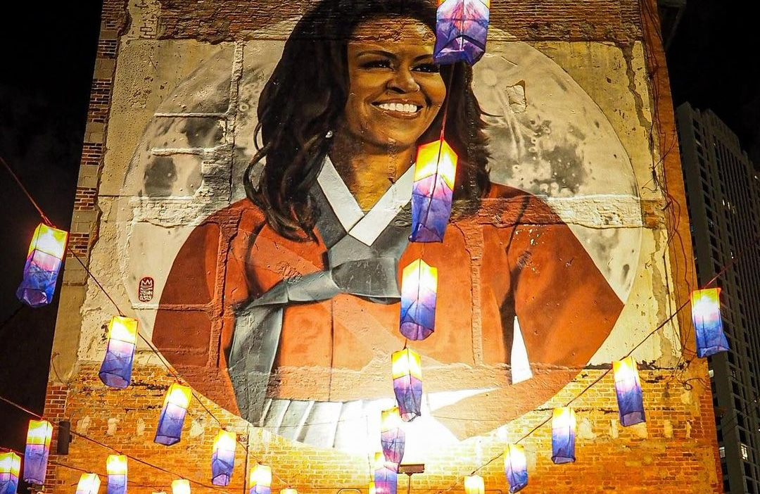 Michelle Obama By Royyal Dog