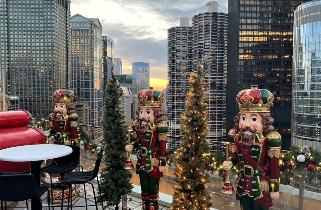 London House Chicago's Inaugural 'Rudolph's Rooftop' Is An Essential Winter Experience