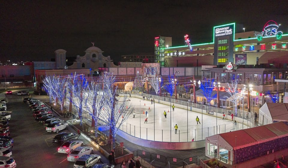 The Extraordinary Chicago Wolves Open-Air Ice Rink Has Returned To Rosemont