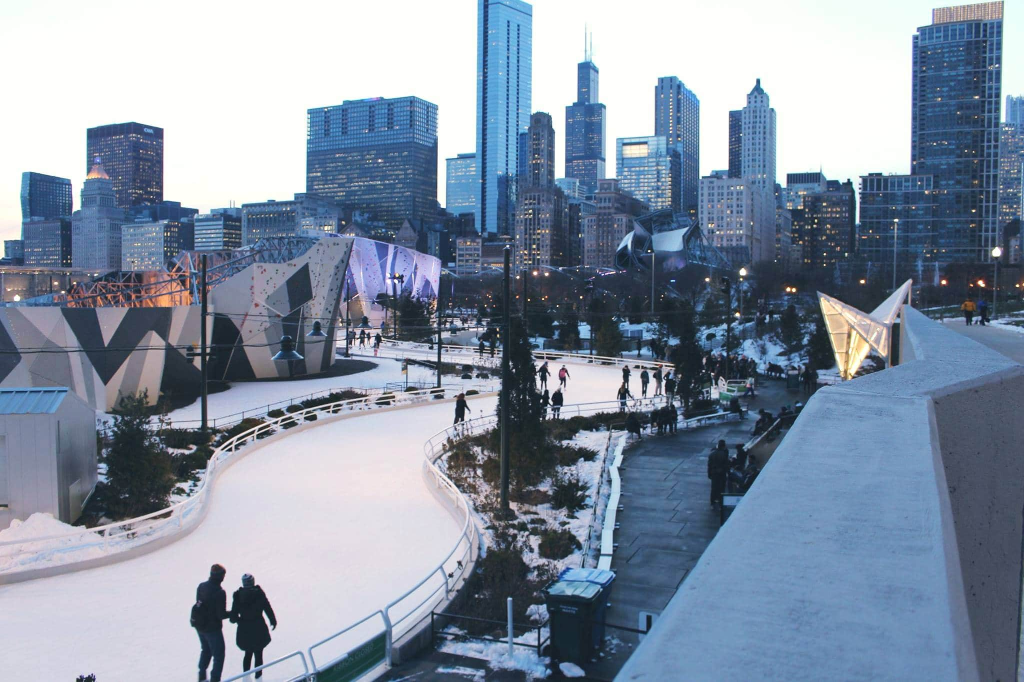 Chicago's Maggie Daley Ice Rink