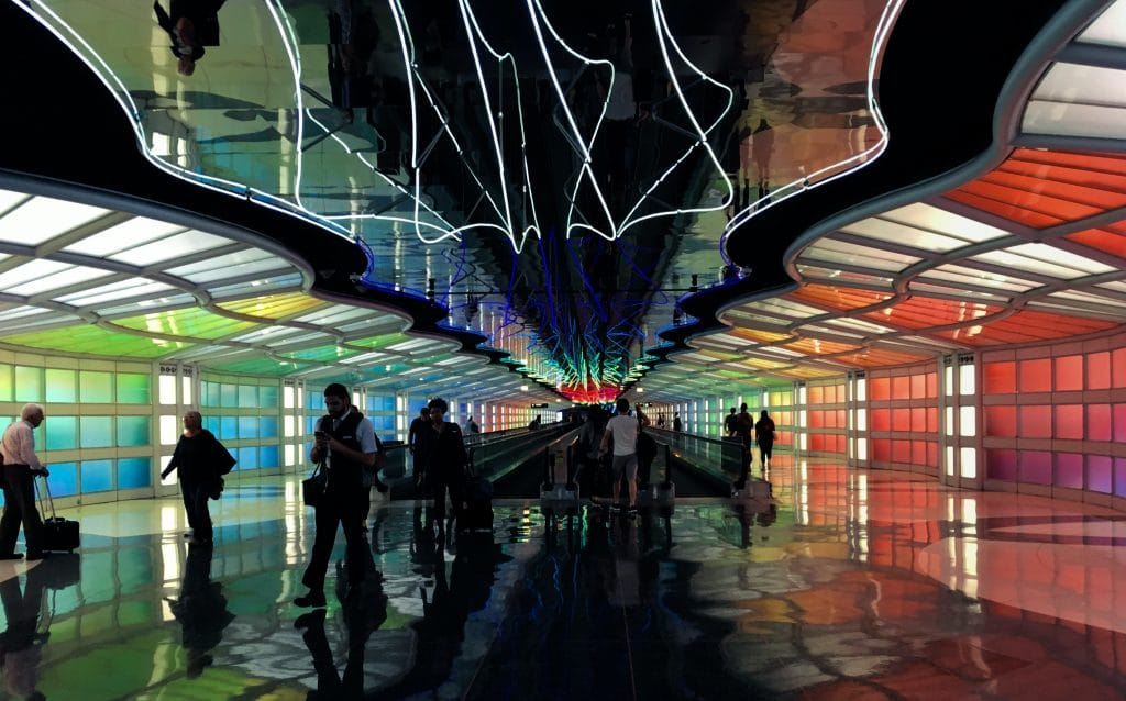 """O'Hare Airport Named Best Airport In North America And Dubs Itself A """"Place Of Romance"""""""