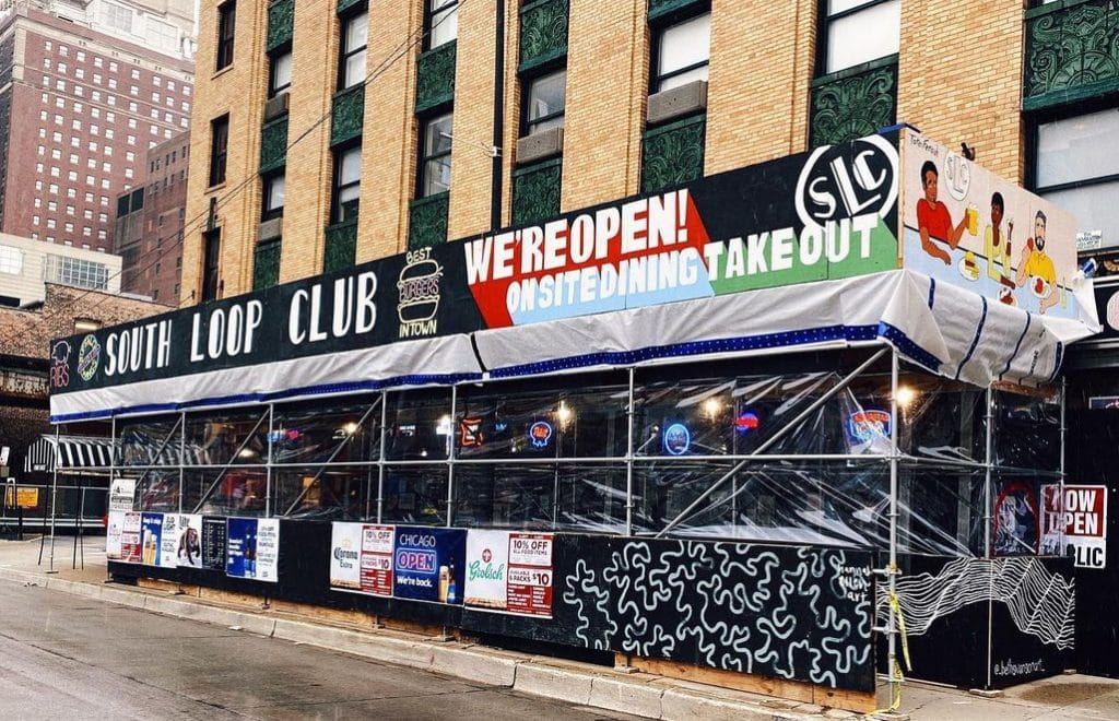 Local Artists Have Revamped South Loop Club's Patio To Encourage Community Support During The Pandemic