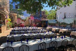 Chicago Wedding Venue: Las Fuentes Patio