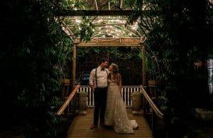 Chicago Wedding Venue: Salvage One Courtyard