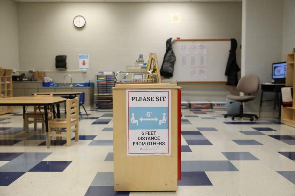 Today's Reopening Of CPS Schools Sees Less Than 40% Of Expected Attendance As Chicago Extends Stay-At-Home Advisory