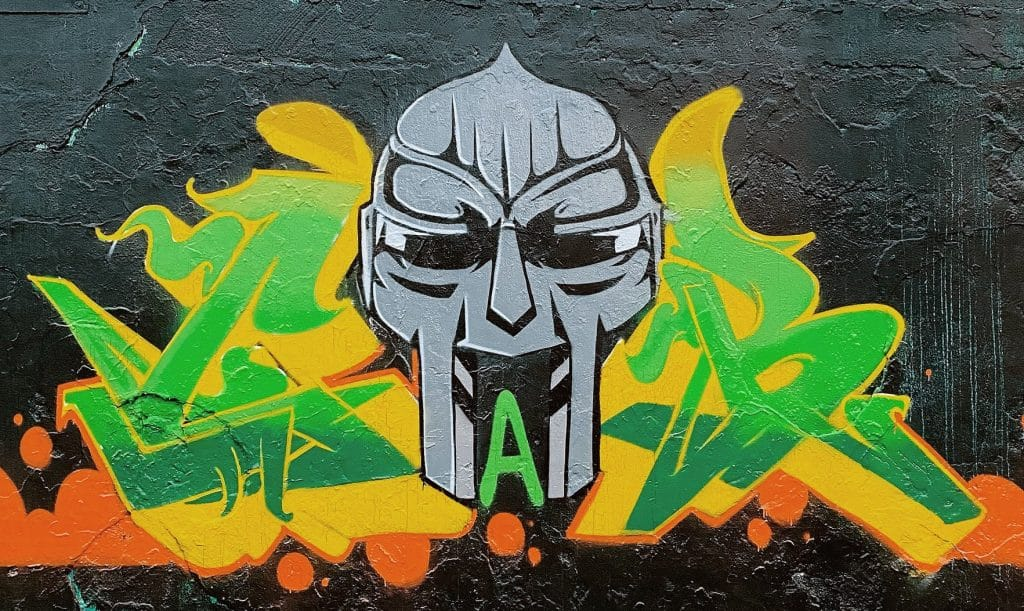 A Series Of MF Doom Murals Have Appeared In Logan Square Honoring The Late Rapper