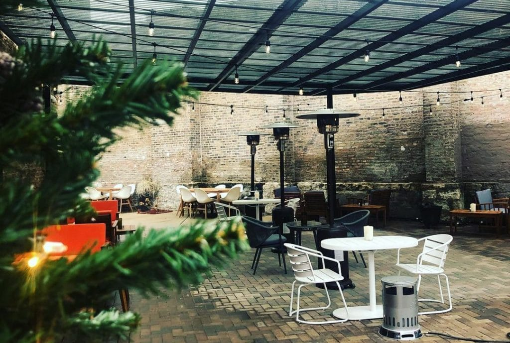 A Cocktail Tavern In River West Will Reopen Their Revamped Patio This Friday With An Après-Ski Winter Vibe