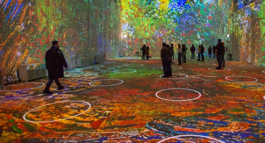 The US Premiere Of The Immersive Van Gogh Exhibit Is Now Open In Chicago