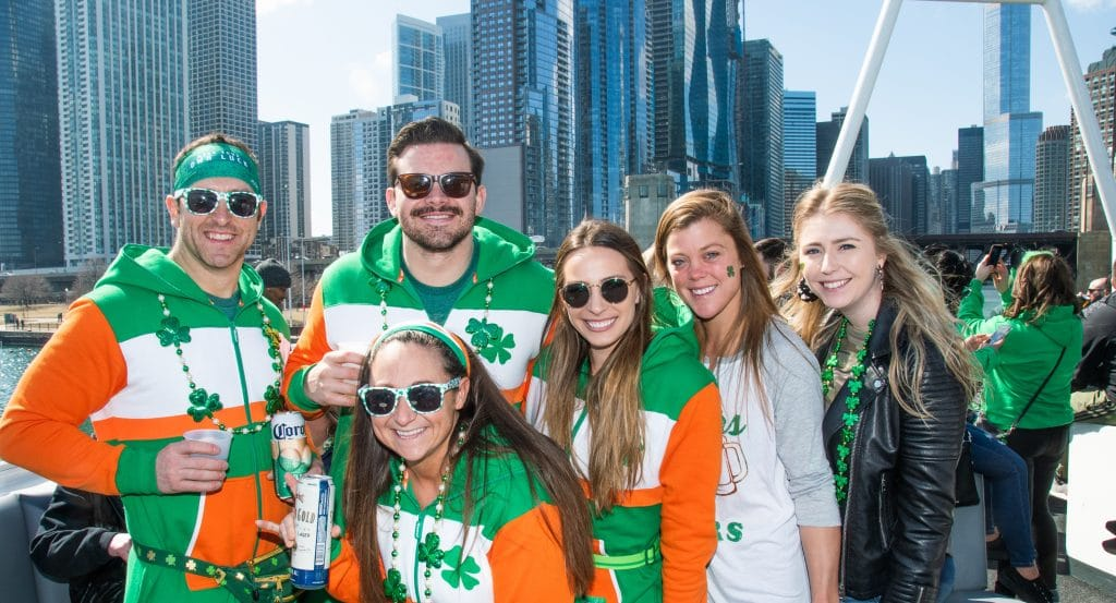 These Dreamy St. Patrick's Day Yacht Parties Offer The Perfect Stand-In For Chicago's Usual Celebrations