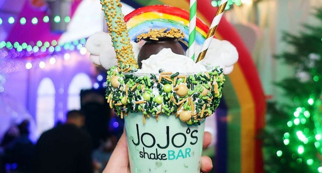 JoJo's Shake Bar Has Launched A Series Of Exclusive St. Patrick's Day Shakes And They Look Incredible