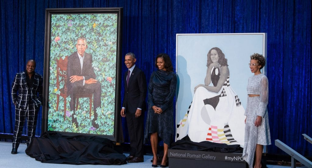 The Iconic Obama Portraits Are Now On Display At The Art Institute Of Chicago