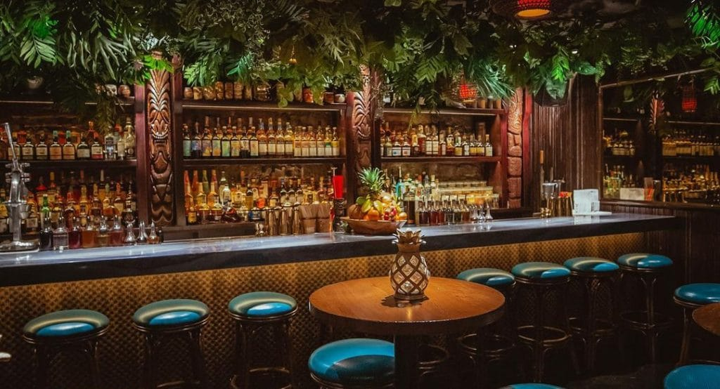 This Speakeasy Tiki Bar Offers A Polynesian Paradise Hidden Below The Streets Of River North