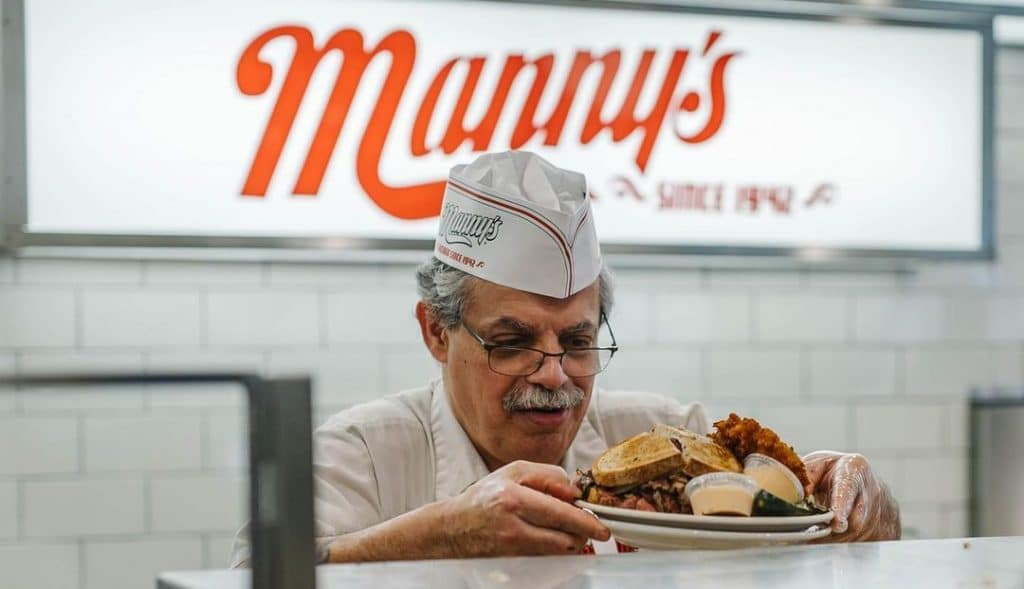 Chicago Favorite Manny's Deli Will Give Away Free Sandwiches To The First 1000 Masked Customers Tomorrow