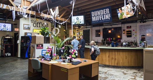 Lincoln Park's Replay Is Back With Its 'The Office'-Inspired Pop-Up