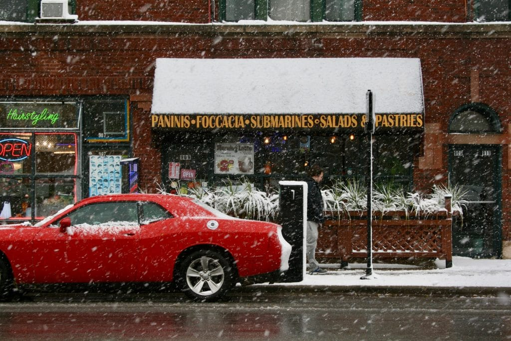 April Snow And Sub-Freezing Temperatures Are Coming To Chicago This Week