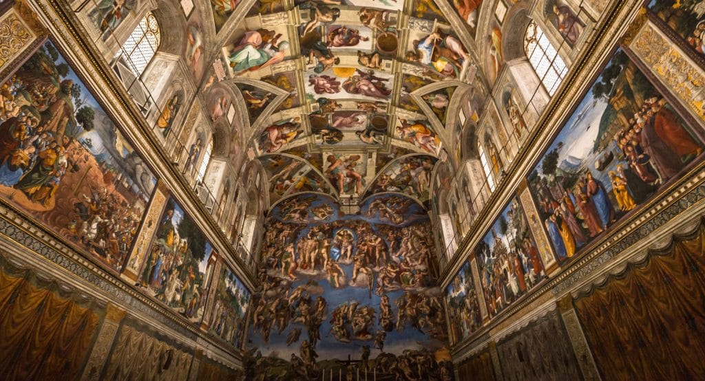 A Remarkable Recreation Of Michelangelo's Sistine Chapel Has Opened In Chicago