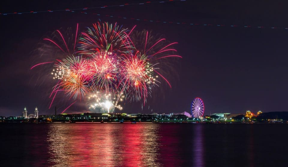 Navy Pier Is Now Open With Weekly Fireworks Shows Every Saturday Of May