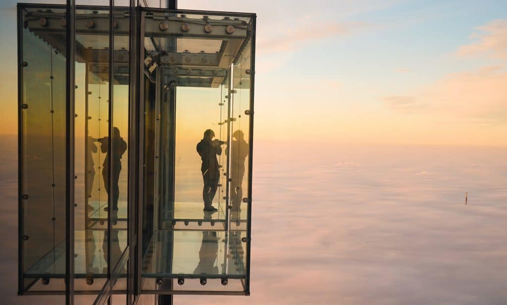 Willis Tower's Revamped Skydeck Opens Today With A Brand New Interactive Museum