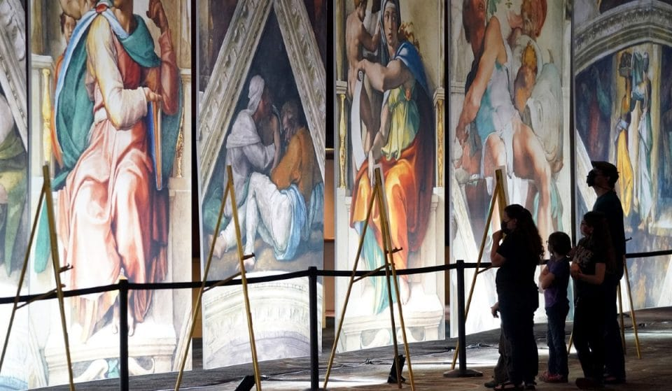 Tickets To Chicago's Breathtaking Sistine Chapel Exhibit Are Now On Sale