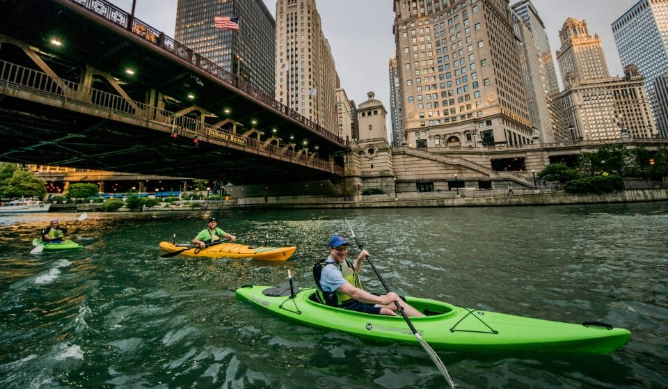 Chicago's Iconic Kayaking Experiences Will Return To Riverwalk & Lakefront Locations Next Month