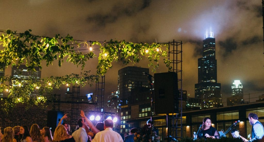 This Multisensory Art & Music Rooftop Experience Offers A Sunday Funday Like No Other