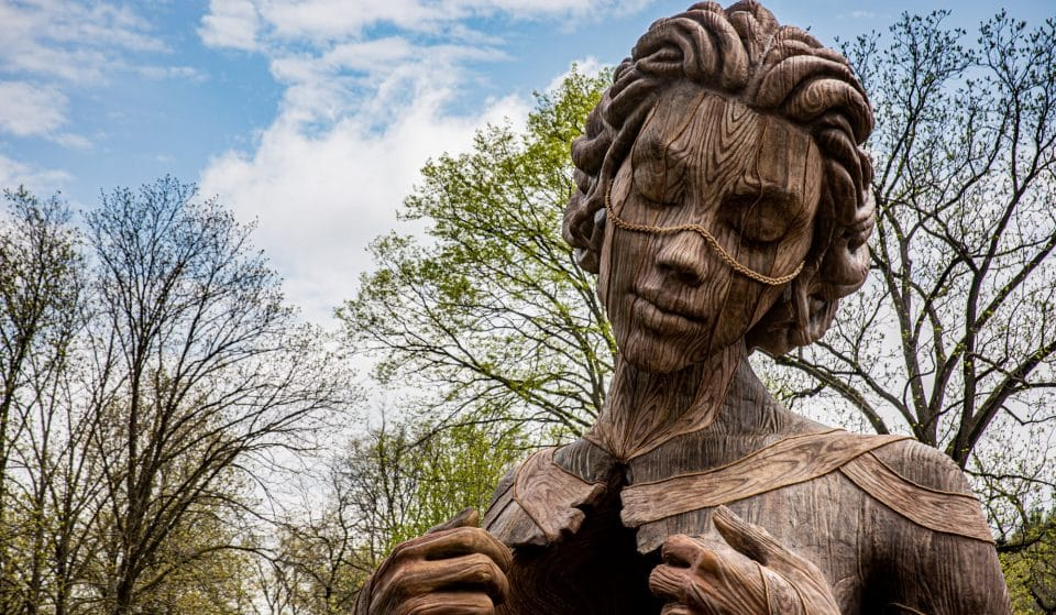 Walk Beneath Towering Natural Sculptures At Morton Arboretum's 'Human+Nature' Exhibition