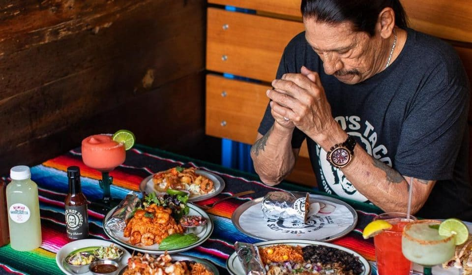 Actor Danny Trejo Has Opened A 'Trejo's Tacos' Ghost Kitchen In The Loop