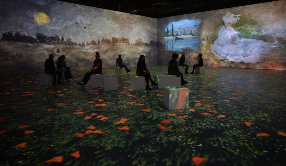 An Epic Multisensory Monet Exhibit Is Coming To Chicago