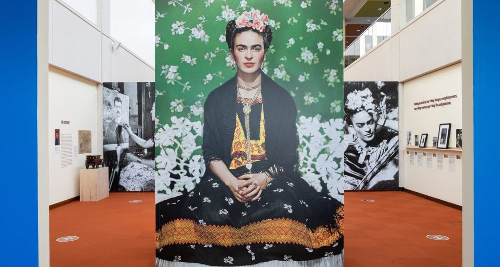 A Mesmerizing Frida Kahlo Exhibition Featuring Original Works Has Arrived In Chicagoland