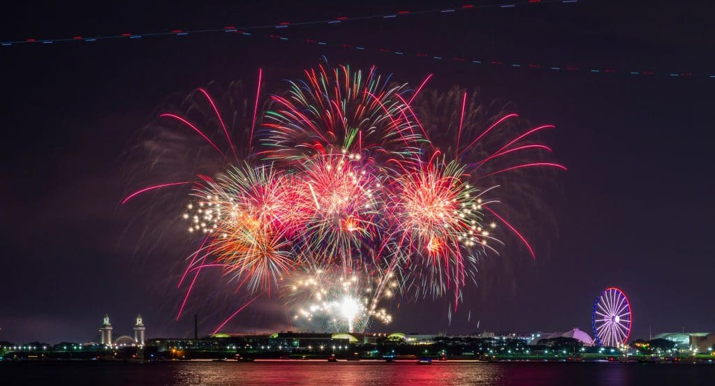 20 Stunning Photos Of Chicago's July 4th Weekend Fireworks