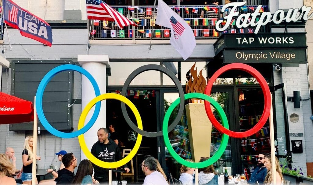 Cheer On Team USA At Chicago's Epic New Olympic Village Pop Up Experience