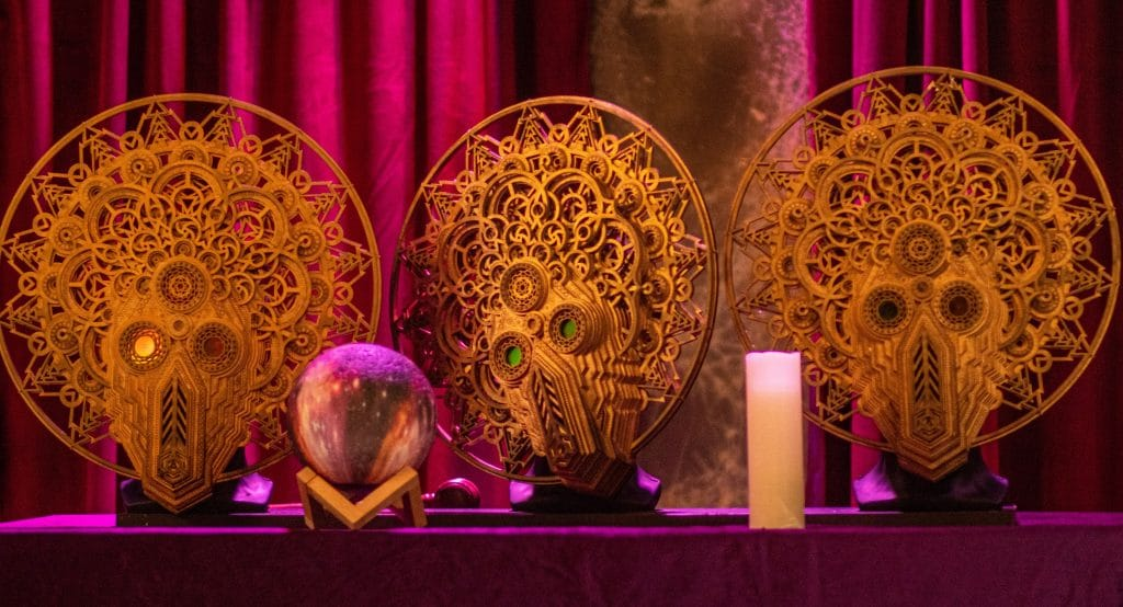 Dine In Darkness With The Secret Society At This Mysterious Multi-Sensory Dinner Experience