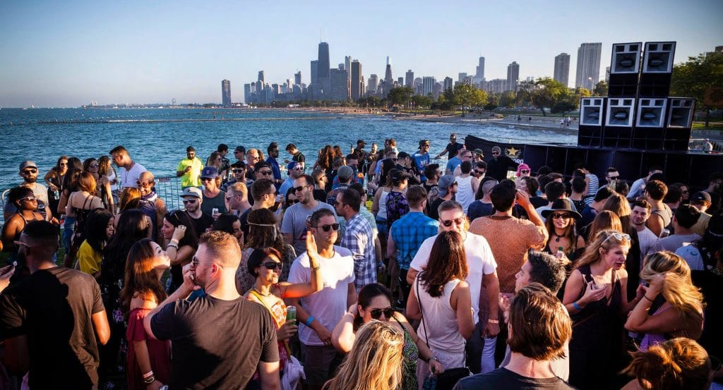 Dance Into The Night At Chicago's 'All Day I Dream' Lakefront Party