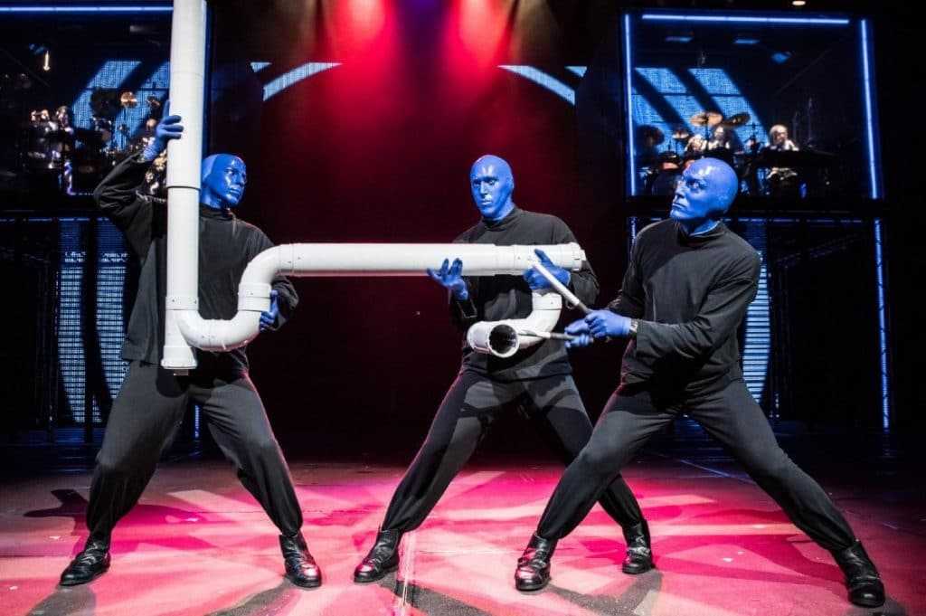 Iconic Blue Man Group Performances Are Returning To Chicago's Briar Street Theatre