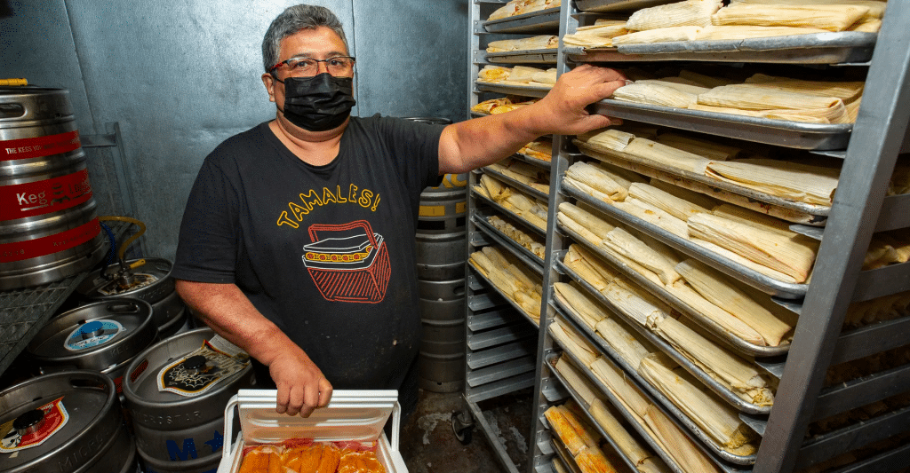 Chicago's Beloved 'Tamale Guy' Has Moved To Wicker Park To Be Nearer His Loyal Customers