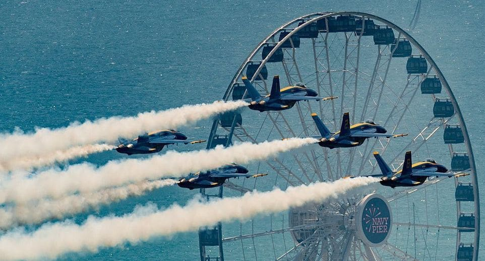 PHOTOS: 40 Extraordinary Shots Of The Weekend's Blue Angels Performance