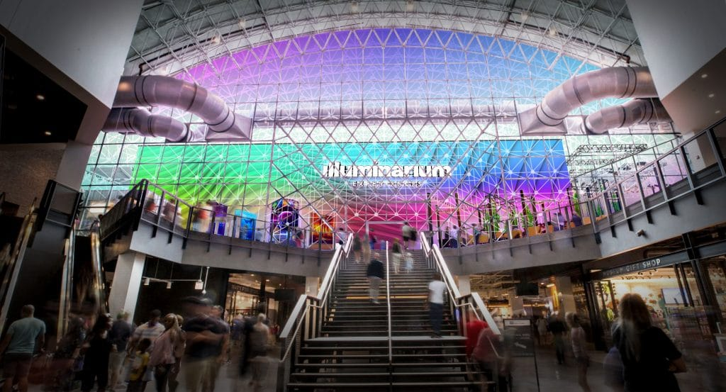 Navy Pier's Crystal Gardens Space Is Being Turned Into An Enormous High-Tech 'Illuminarium' Exhibit