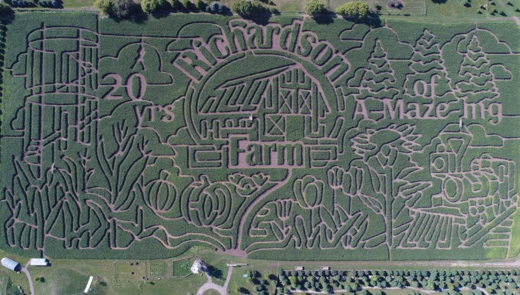 The 'World's Largest' Corn Maze At Richardson Farm Outside Chicago Has Opened To The Public