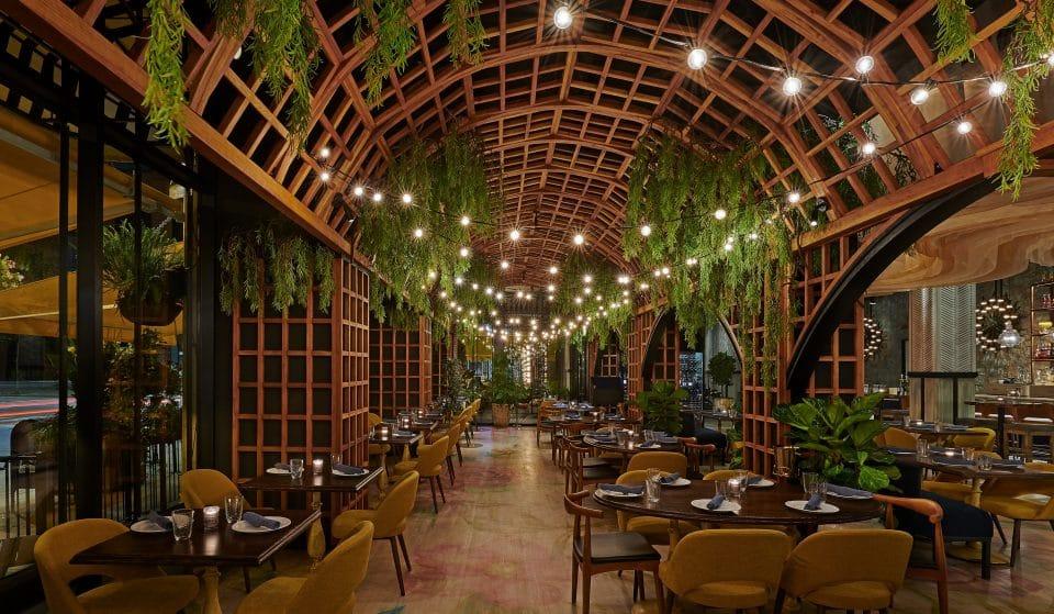 A Verdant New Italian Restaurant Has Opened In West Loop With Stunning Outdoor-Indoor Aesthetics